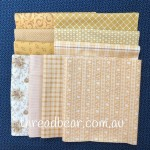 Fabric Muffin Gold 1