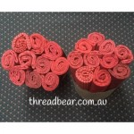 Fabric Muffin Red 2
